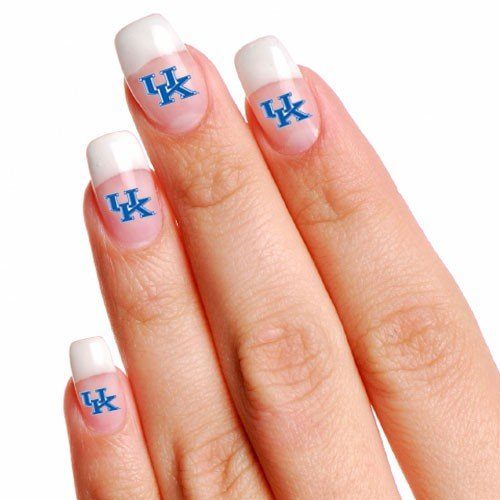 NCAA Kentucky Wildcats 4-Pack Temporary Nail Tattoos at Amazon.com