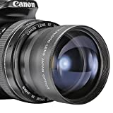 Neewer 58mm 2X Telephoto Lens For Canon, Nikon, Olympus, Sony, Pentax, Samsung And Other DSLR Camera Lenses With...