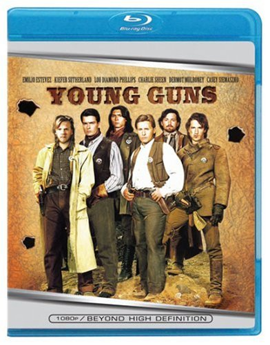 Cover art for  Young Guns [Blu-ray]
