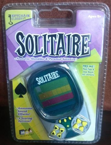 Keychain Classics - Solitaire Keychain (Features Klondike & Pyramid Solitaire)