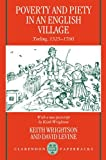 img - for Poverty and Piety in an English Village: Terling, 1525-1700 (Clarendon Paperbacks) book / textbook / text book