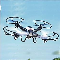 megadream 2.4G 4CH Kanal 6AXIS Gyro Mini Outdoor RC Fernbedienung Quadcopter Flugzeug Spielzeug High Speed einfach zu fliegen One Schlüssel GPS Höhe halten-2MP WIFI Kamera inklusive
