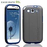 Case-Mate docomo GALAXY S III SC-06D Hybrid Tough Case, Titanium / Olympian Blue ハイブリッド タフ ケース, チタニウム/オリンピアン・ブルー CM021823