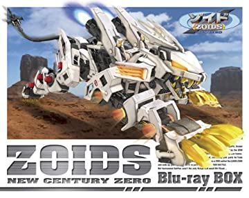 ゾイド新世紀/ZERO Blu-ray BOX(KOTOBUKIYA製 1/72HMMライガーゼロ 専用限定成型色付き)(完全初回生産限定版)