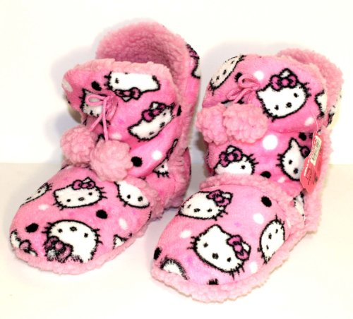 Hello Kitty Plush Slipper Booties 10