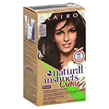 Natural Instincts Creme Non-Permanent Color, Medium Brown 21, 1 application