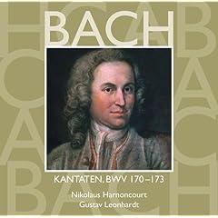 """Cantata No.170 Vergn�gte Ruh, beliebte Seelenlust BWV170 : IV Recitative - """"Wer sollte sich demnach wohl hier zu leben w�nschen"""" [Counter-Tenor]"""