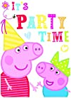 6 Peppa Pig RED Birthday Party Invita…