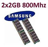 Dual Channel Kit SAMSUNG 2 x 2 GB = 4GB