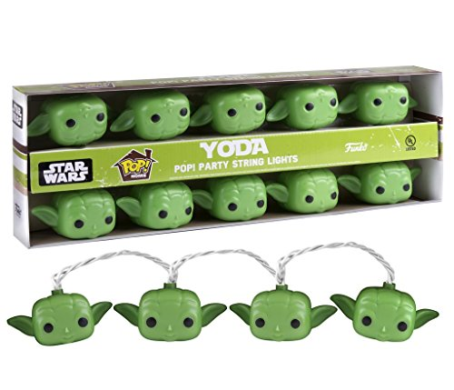 Star Wars Yoda Pop! Home Party String Lights