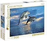 Clementoni 30139.3 'Dolphin' Jigsaw Puzzle 500 Pieces