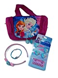 Disney Frozen Bolso Neceser Bolsa Aseo con Una Pulsera y Accesories del pelo