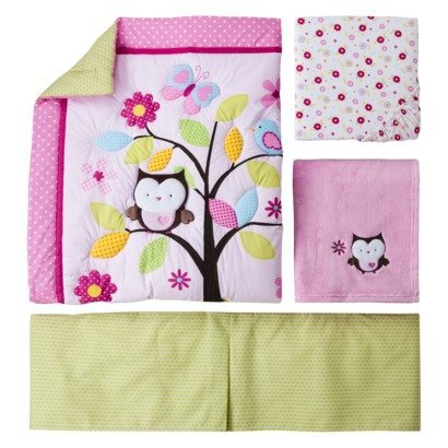 Woodland Animals Baby Bedding 8891 front