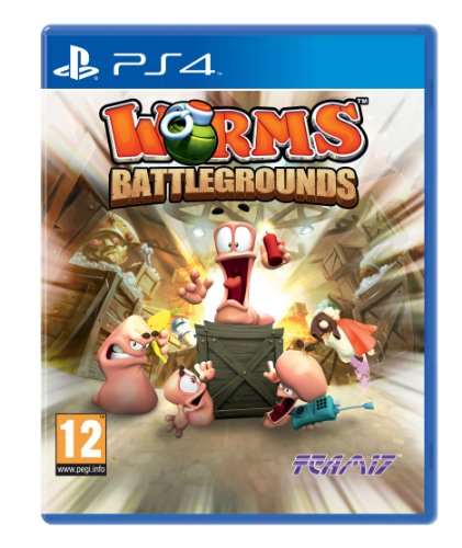 Worms Battlegrounds Sony Playstation 4 PS4 Game UK