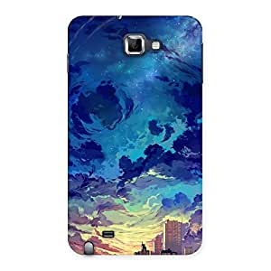 Abstract Cloud Back Case Cover for Galaxy Note