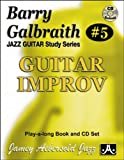 Barry Galbraith # 5 - Guitar Improv (Book & CD Set)