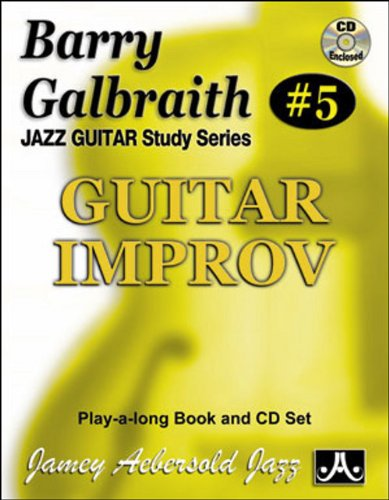 Barry Galbraith # 5 - Guitar Improv (book & Cd Set) Picture