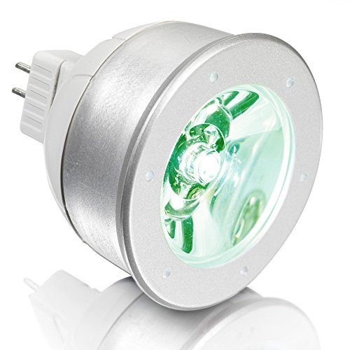 Aurora 1.5W Led Mr16 Constant Voltage Bulb - Green Light