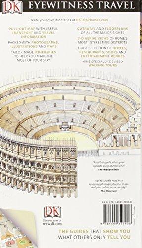 DK Eyewitness Travel Guide. Rome