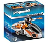 PLAYMOBIL 5288 - Spy team sky bike + 4876 - Secret Agent Car
