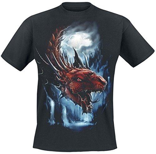 Toxic Angel Dragon T-Shirt nero S