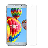 ALCLAP NOTE 5 Tempered Glass Premium Color Screen Protector Full Coverage Protection High Definition(HD) 3D Curved Film Ultra Clear for Samsung Galaxy NOTE5 (Clear) by ALCLAP