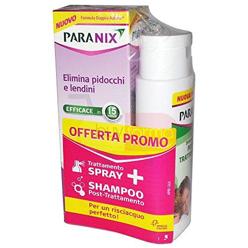PARANIX SPRAY+SHAMPOO PROMO