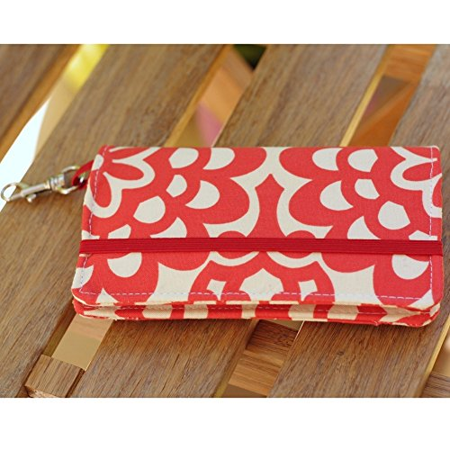 kailo-chic-extra-large-cell-phone-wallet-red-floral-with-crossbody-strap