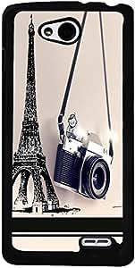 PrintVisa Travel Paris Camera Case Cover for LG L90