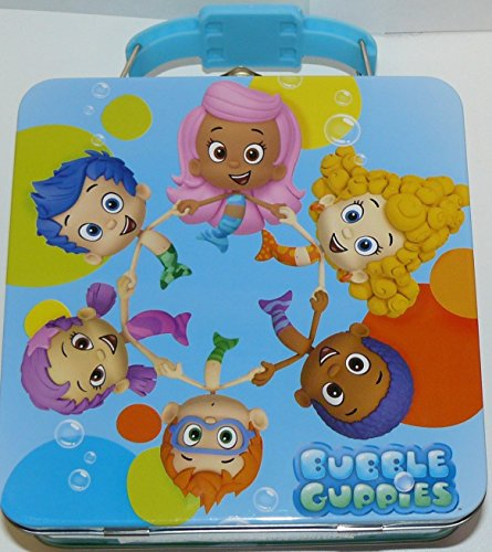 Nickelodeon Bubble Guppies Tin Box Carry All