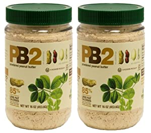 Bell Plantation Powdered Peanut Butter 16 oz - 2 Pack by PB2