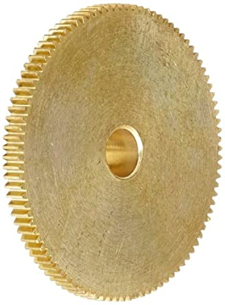"""Brass Pinion Gear 64P 20 Deg Pressure Angle 96Teeth x .250"""" Bore x 1.500"""" Pitch Dia"""