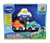 Vtech - 205705 - Tut Tut Bolides - Coffret de 3 Vhicules Parlants : Mathis + Lon + Tristan - 1-5 ans