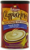 Folgers Cappuccino French Vanilla Beverage Mix, 16-Ounce Canisters (Pack of 6)