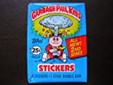 Topps Garbage Pail Kids Trading Cards Stickers 2nd Series Wax Booster Pack
