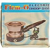 Flem-O Steel Dhoop Dani (20 Cm X 7 Cm X 9 Cm, Silver)