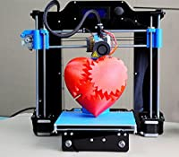 Upgrade Version Desktop DIY 3D Printer with LED Screen