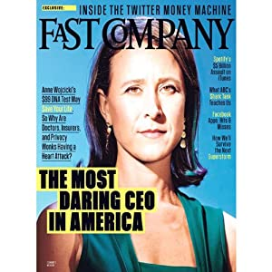 Audible Fast Company, November 2013 Periodical
