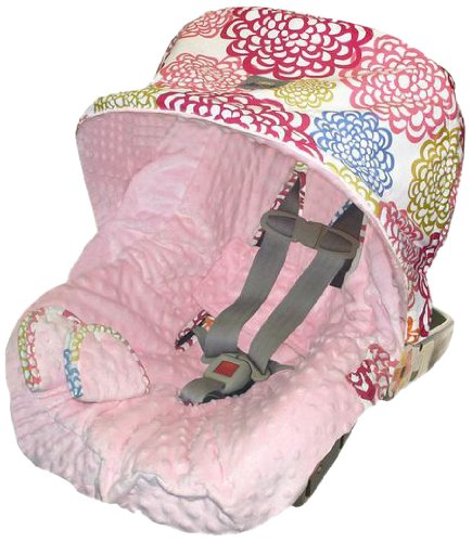 itzy ritzy infant car seat cover and peek a boo pod infant carrier pod bundle f ebay. Black Bedroom Furniture Sets. Home Design Ideas