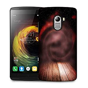 Snoogg abstract studio backdrop Designer Protective Back Case Cover For Lenovo K4 Note