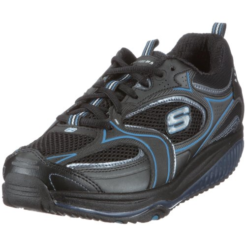 skechers-womens-shape-ups-xf-accelerators-black-blue-casual-lace-up-12320-7-uk