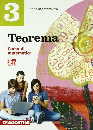 Teorema. Corso di matematica. Con quaderno operativo. Con espansione online. Per la Scuola media: TEOREMA 3 +QUAD.