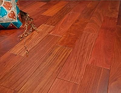 """Santos Mahogany Prefinished Engineered 5"""" x 1/2"""" Wood Flooring w/3mm Wear Layer Samples at Discount Prices by Hurst Hardwoods"""