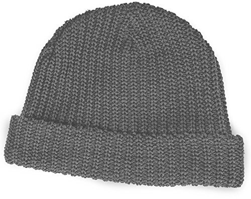 MSTRDS Fisherman Beanie ht. grey by MSTRDS