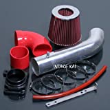 Red 2000-2005 Mitsubishi Eclipse SPYDER GS GT GTS RS 2.4 2.4L 3.0 3.0L Air Intake Kit Systems