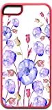 03-Watercolor Florals Pink Plastic Case for the IPHONE 5C ONLY (not compatible with the Iphone 5s)