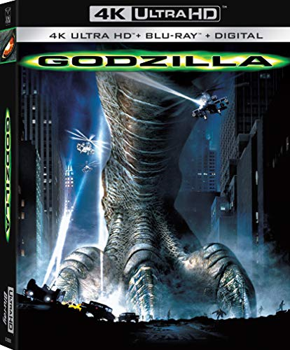 4K Blu-ray : Godzilla (With Blu-ray, 4K Mastering, Widescreen, Dubbed, Subtitled)