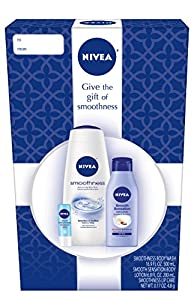 NIVEA Smooth 3 Piece Skincare Gift Set