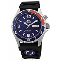 Orient Blue Automatic Dive Watch with Pepsi Bezel CEM65003DW