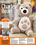 Unknown It's Little CHARLEY BEAR Toy Knitting Pattern: Measurements 25cm 10